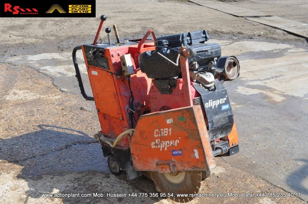 Used Clipper Csb1 Self Propelled Floor Saw Other Year