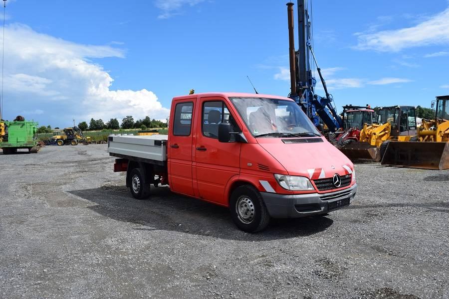 mercedes benz sprinter 313 doka tankwagen gebraucht kaufen und verkaufen bei bea4eb71. Black Bedroom Furniture Sets. Home Design Ideas