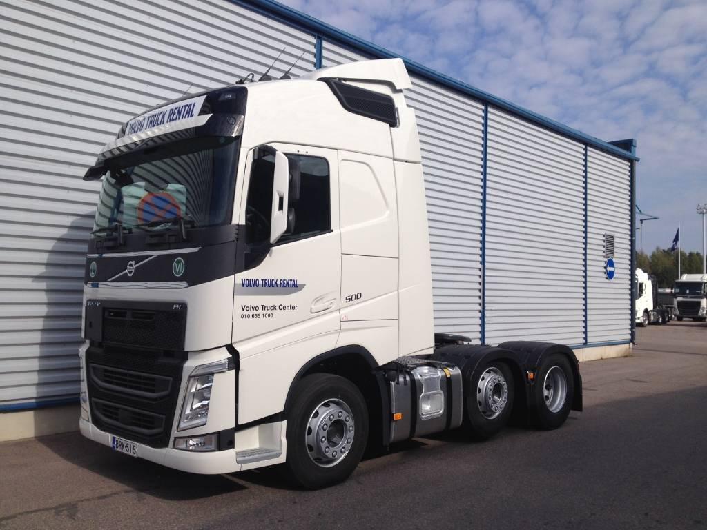 Volvo FH 6x2, vetoauto, väliteli, ADR - Tractor Units for rent, Year of manufacture: - Mascus USA