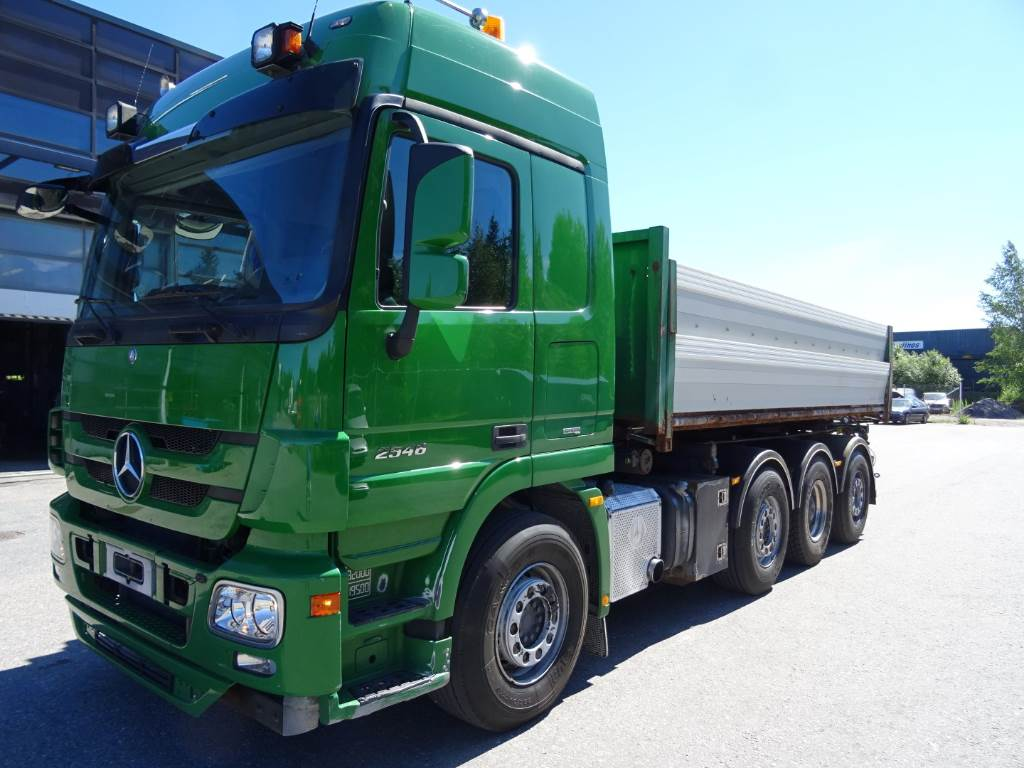 Used mercedes benz actros 3248 vaijeri vaihtolavalaite for Used mercedes benz trucks for sale in germany