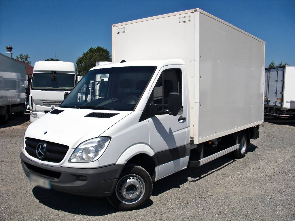 mercedes benz sprinter 516 316 koffer box 8 pallets lift a. Black Bedroom Furniture Sets. Home Design Ideas