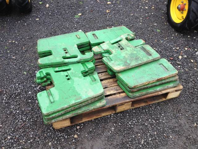 John Deere Tractor Counterweights : Used john deere kg weights other tractor accessories for