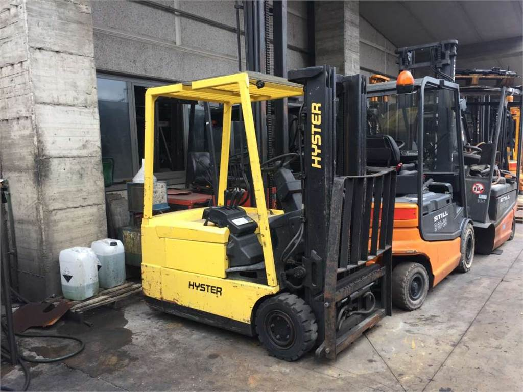 1980 Hyster Electric Forklift Best Secret Wiring Diagram H80xl Used J1 60xmt Trucks Year 1997 1973 Pneumatic Tire