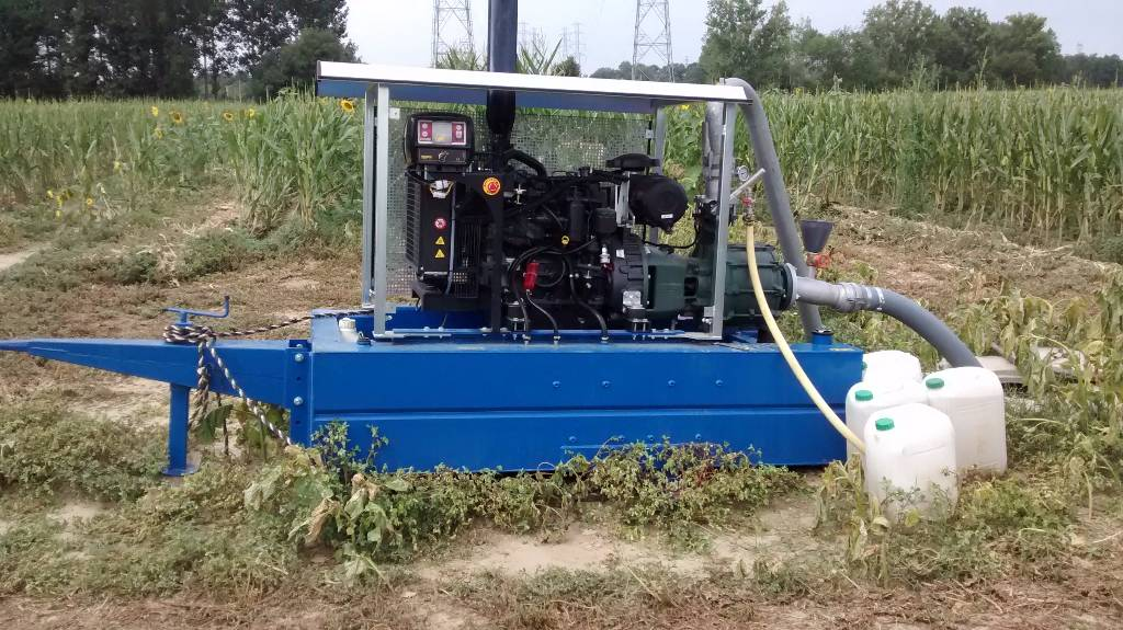 used iveco 75 cv irrigation pumps year  2017 price