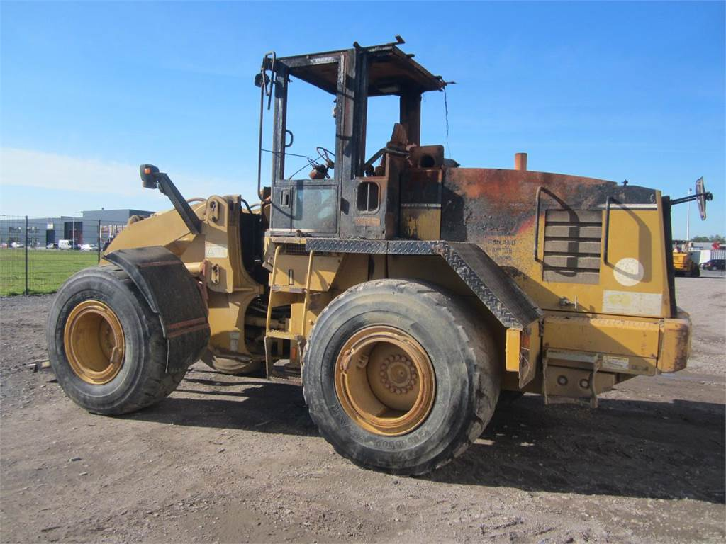 Caterpillar 928G (Brandschade) (FOR PARTS)