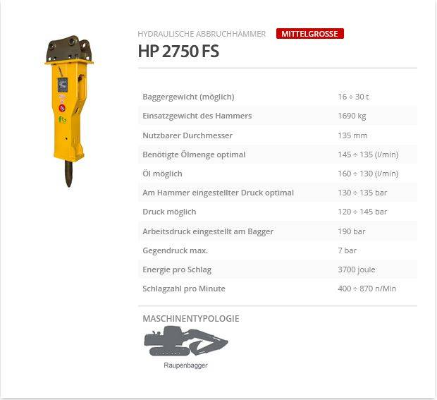 Indeco HP 2750 FS