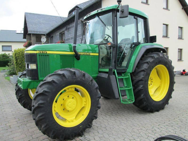 Used john deere 6510 power quad tractors year 2001 for sale mascus usa - Tondeuse john deere jm36 ...