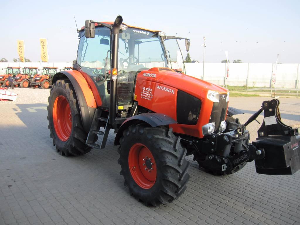 Kubota m135gx anno di immatricolazione 2014 trattori for Trattori kubota