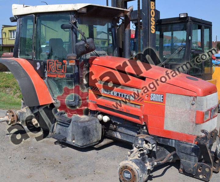 Accessories For Tractors : Used same silver titan explorer iron rubin other