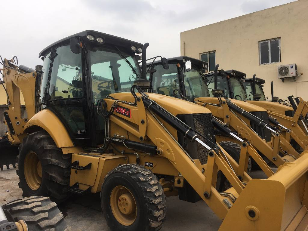 Caterpillar 430 F Cat Backhoe Loader Year Of Manufacture