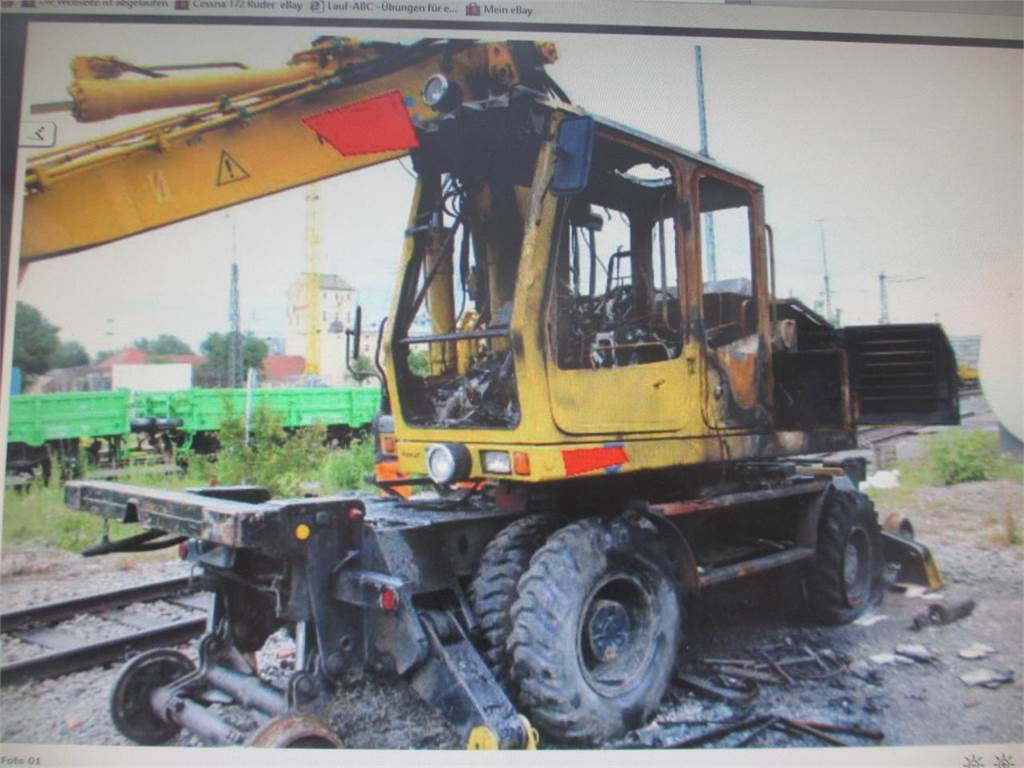 Liebherr A900 ZW Litronic (For Parts)