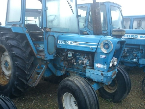 Used Ford 7600 Tractors Year  1976 For Sale