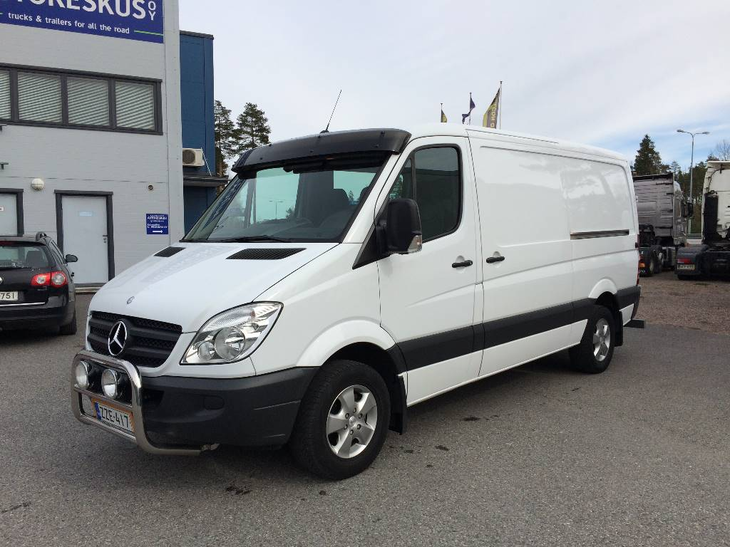 Used mercedes benz sprinter kasten 316cdi panel vans year for Used mercedes benz minivan for sale