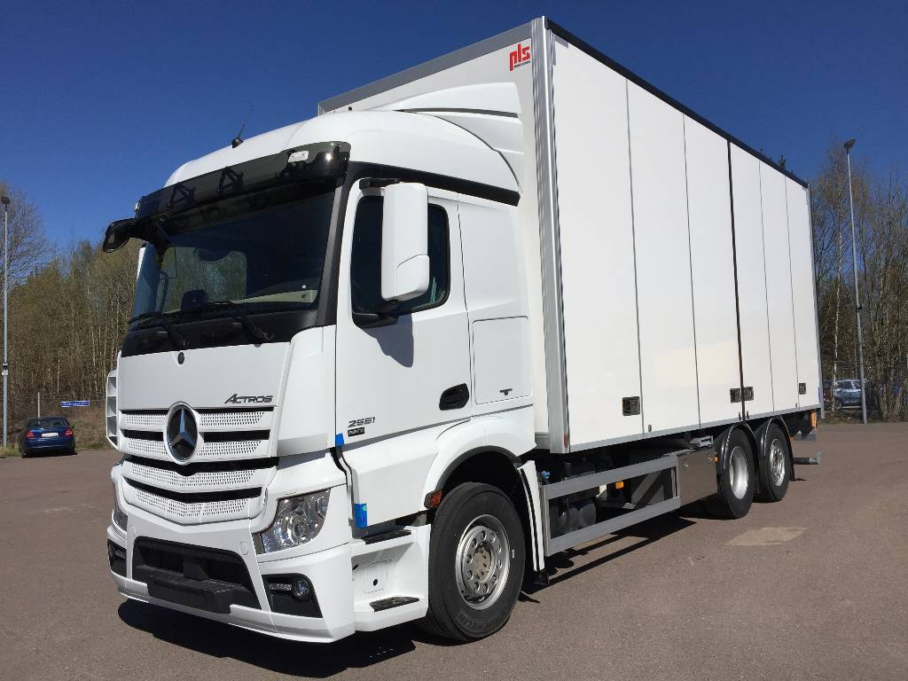 used mercedes benz actros 255 transportskap pls box trucks year 2018 price 184 309 for sale. Black Bedroom Furniture Sets. Home Design Ideas