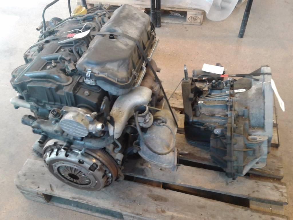 Renault Master 2 5 Dci Komplett Motor V Xell Da Til Salg