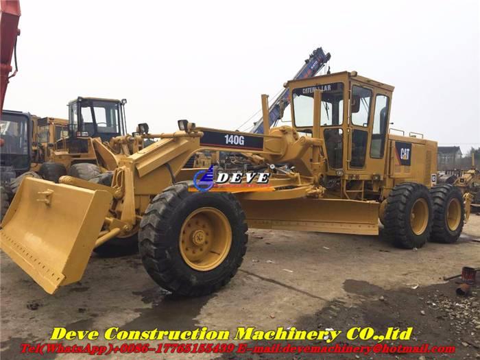 Used Caterpillar 140 G 140g Motor Grader 140g Rsmodell