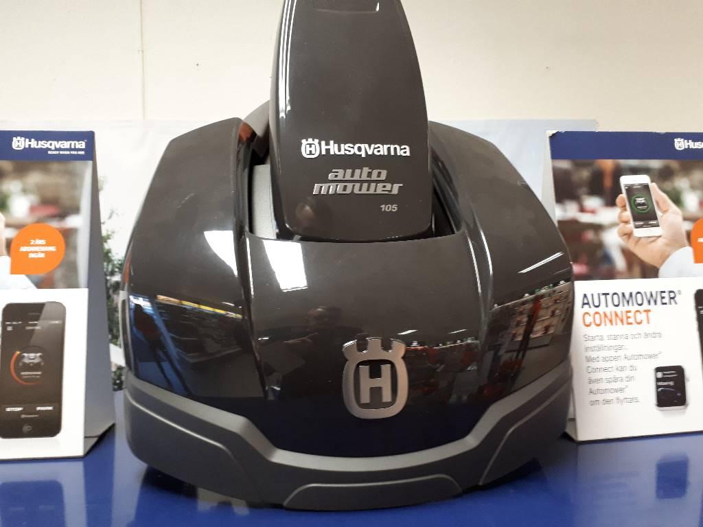 Husqvarna 105 ann e d 39 immatriculation 2017 robot de - Robot de tonte husqvarna ...