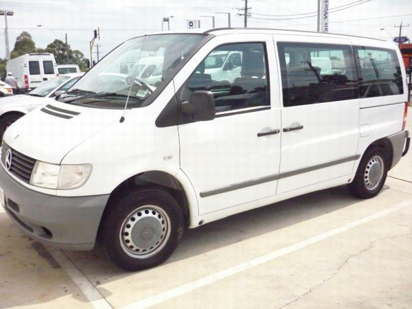 Used mercedes benz vito 113 panel vans year 2001 price for Mercedes benz vans usa
