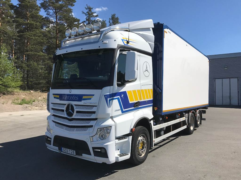 Used mercedes benz 963 actros wood chip trucks year 2015 for Mercedes benz inspection cost