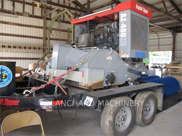 asphalt zipper milling machine