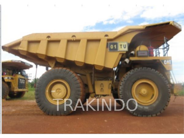 used caterpillar 785c articulated dump truck adt year. Black Bedroom Furniture Sets. Home Design Ideas
