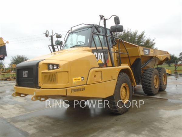 cat 730 dump truck manual