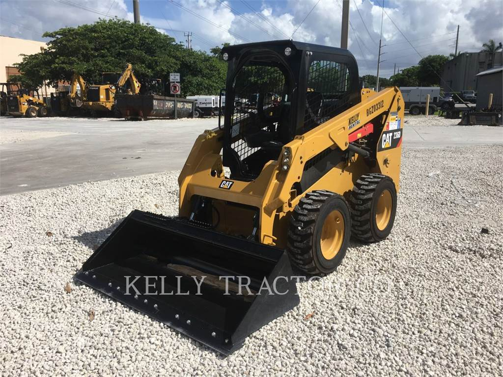 Skid Steer Bucket >> Caterpillar 236D for sale FL , Year: 2017 | Used Caterpillar 236D skid steer loaders - Mascus USA