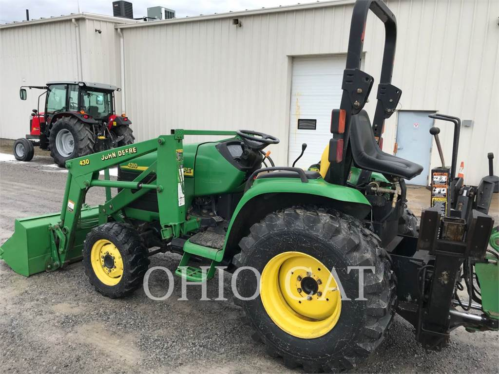 John Deere 4310 Tractor : John deere for sale salem oh price used