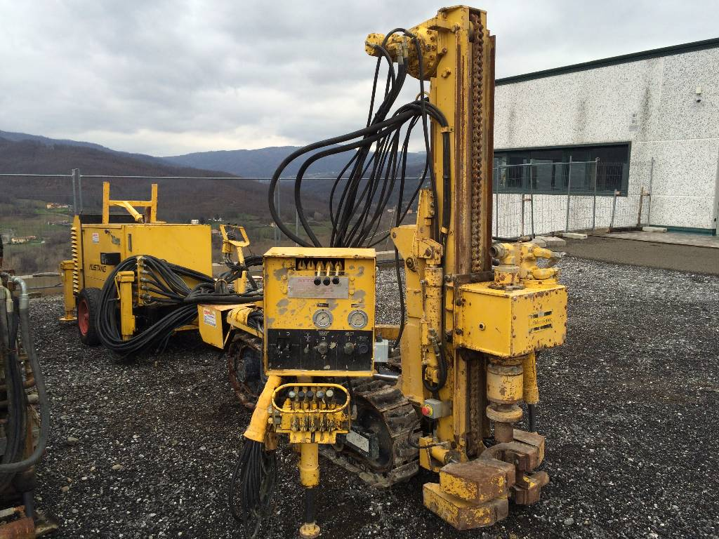 Used Atlas Copco Mustang A30 Light Drills Year 1992 Price