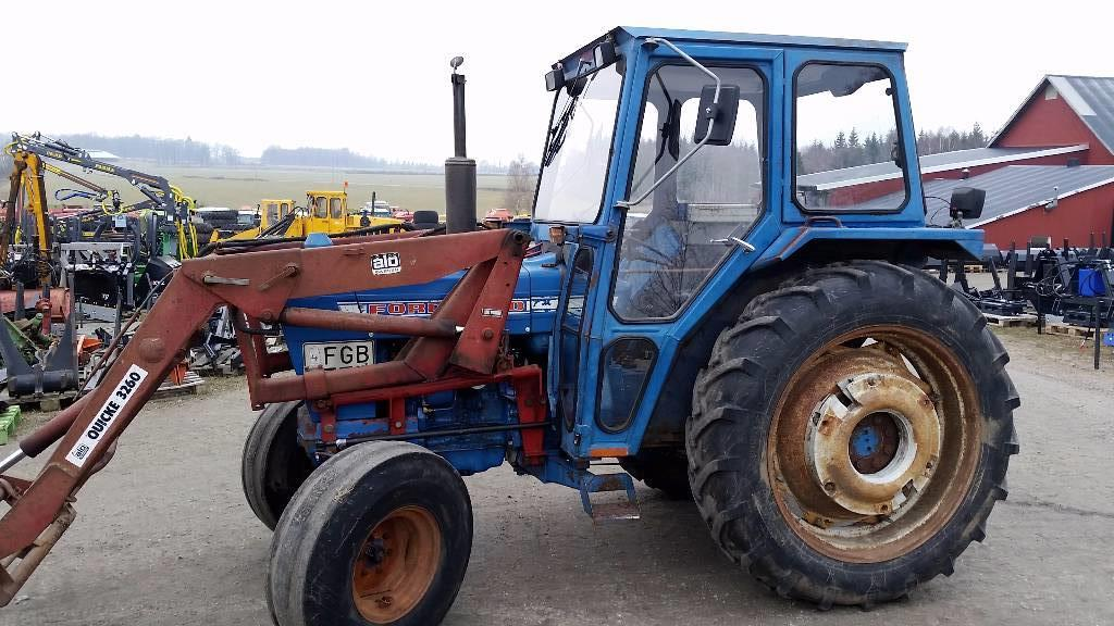 1975 Ford 4000 Tractor : Ford Ålö year of manufacture tractors