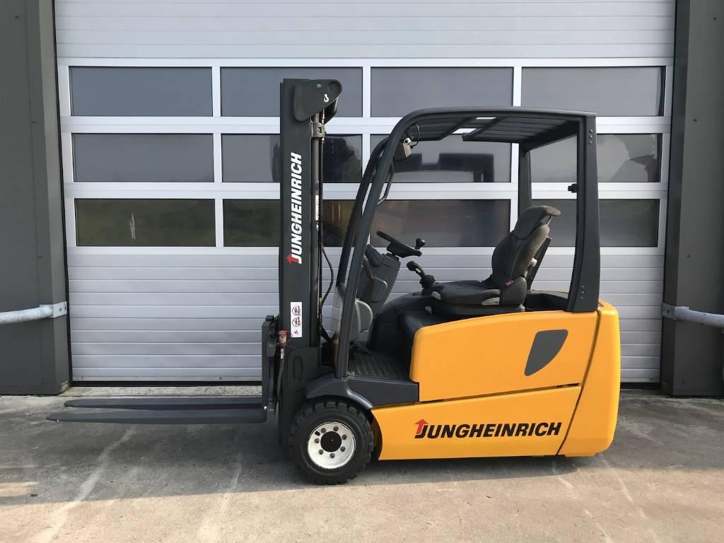 Electric Forklift Jungheinrich Erv308: Jungheinrich 2 Ton Elektrische Heftruck Jungheinrich