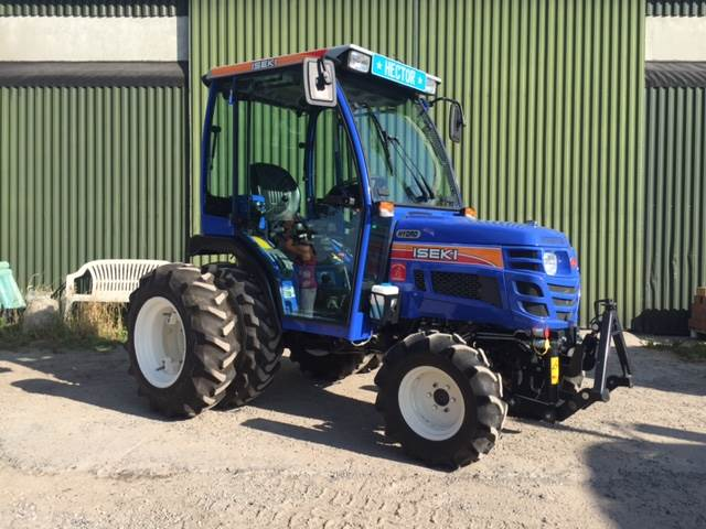 Iseki Tractor Tires : Used iseki hydro compact tractors year price