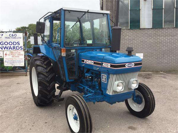 Ford 4110 TRACTOR til salg - Brugte Ford 4110 TRACTOR Brugte traktorer - Mascus Denmark