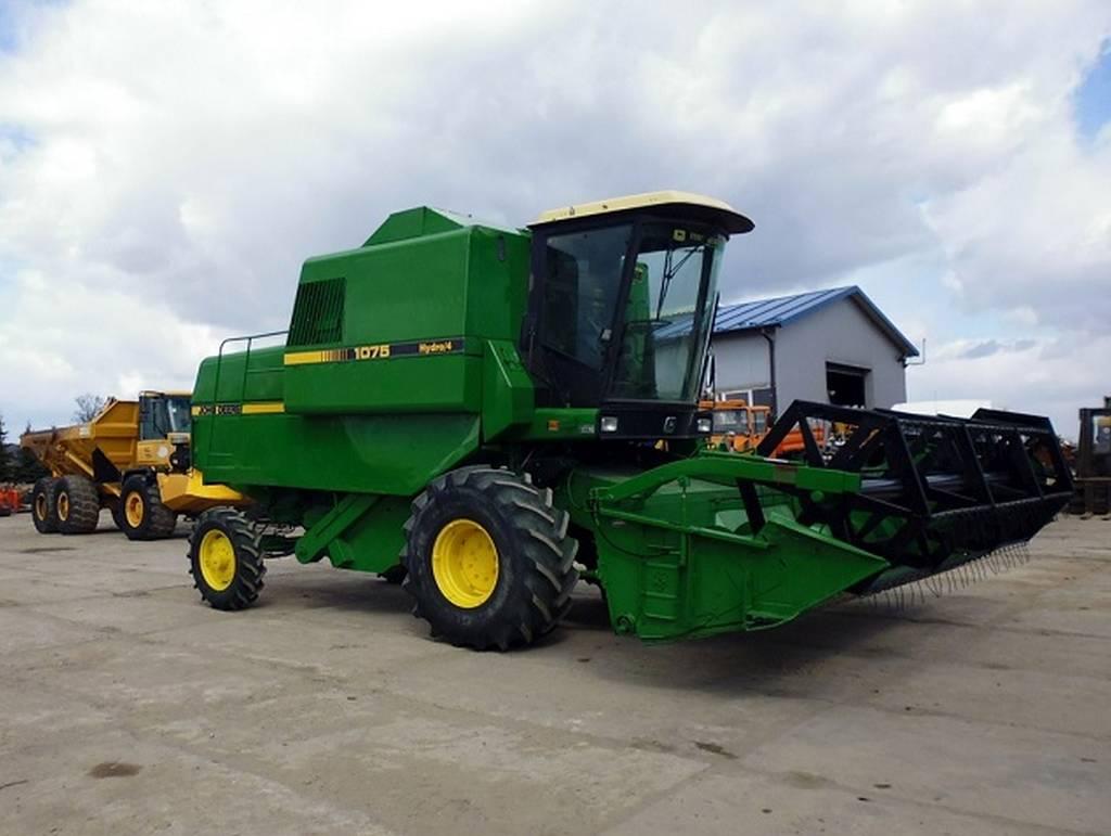Used John Deere 1075 Hydro 4 Combine Harvesters Year 1984