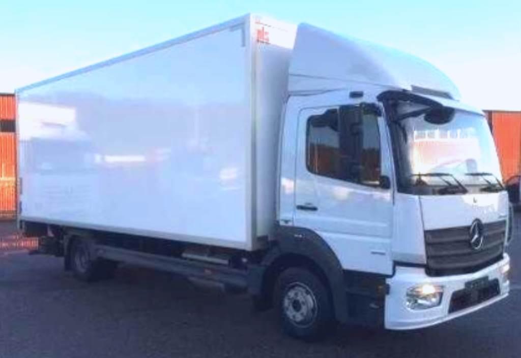 Used mercedes benz atego 916 box trucks year 2017 price for Used mercedes benz trucks for sale in germany