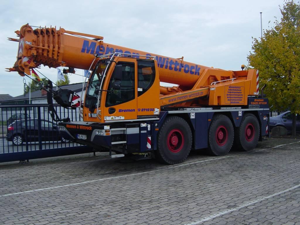 Jib Crane Manufacturers Usa : Used liebherr ltc all terrain cranes year