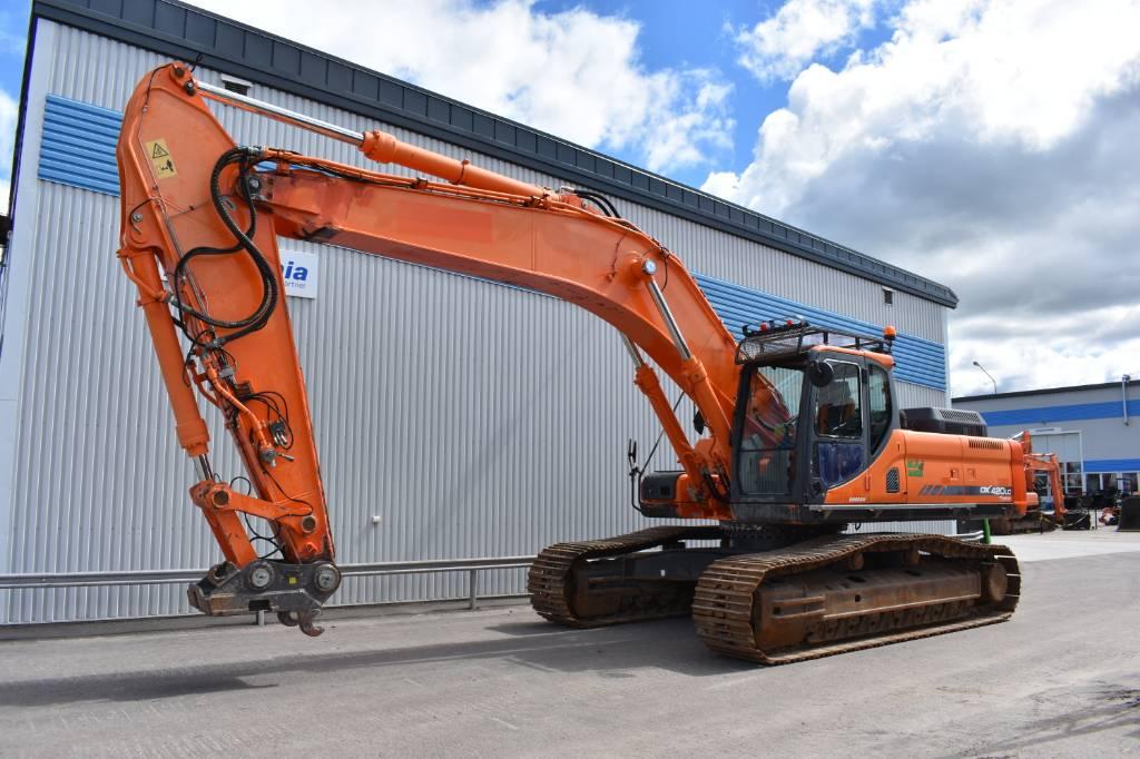 Doosan DX 420 LC - Crawler excavators, Year of manufacture