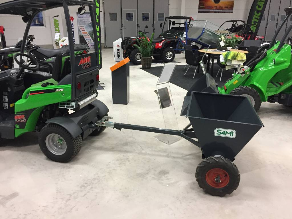 Sand Spreaders For Tractors : Sami s sand and salt spreaders id d be
