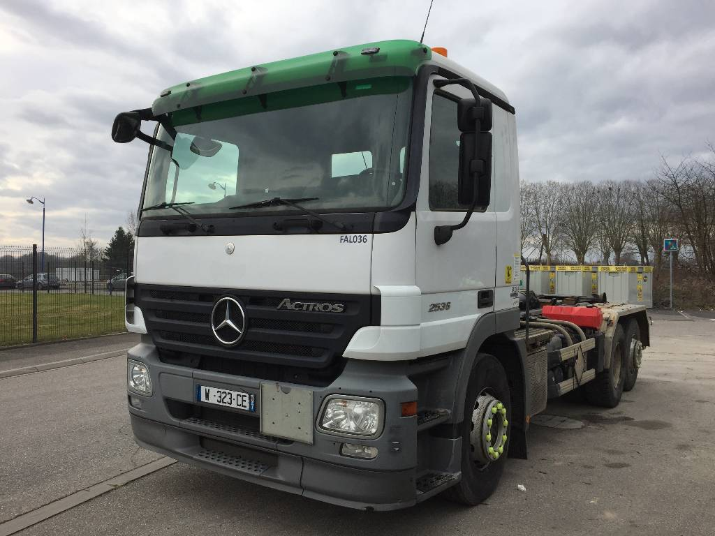Used mercedes benz actros 2536 tow trucks wreckers year for Mercedes benz trucks