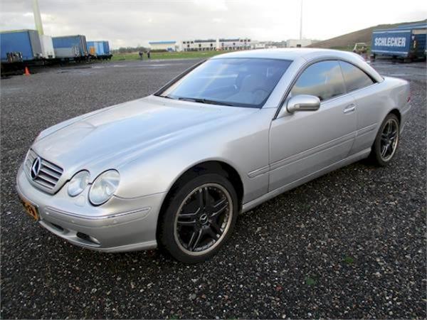 used mercedes benz cl klasse 500 amg cars year 2000 price. Black Bedroom Furniture Sets. Home Design Ideas