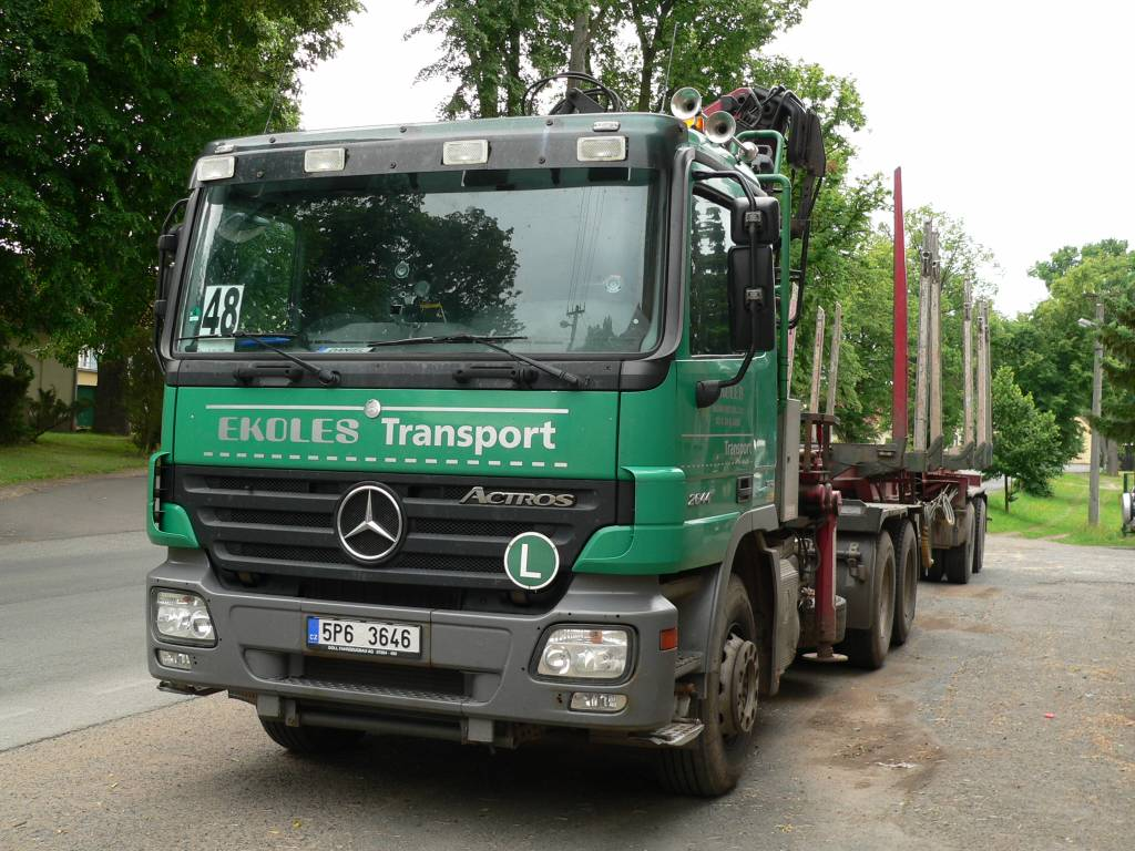 Used mercedes benz actros 2644 l 6x4 other trucks year for Mercedes benz used trucks for sale