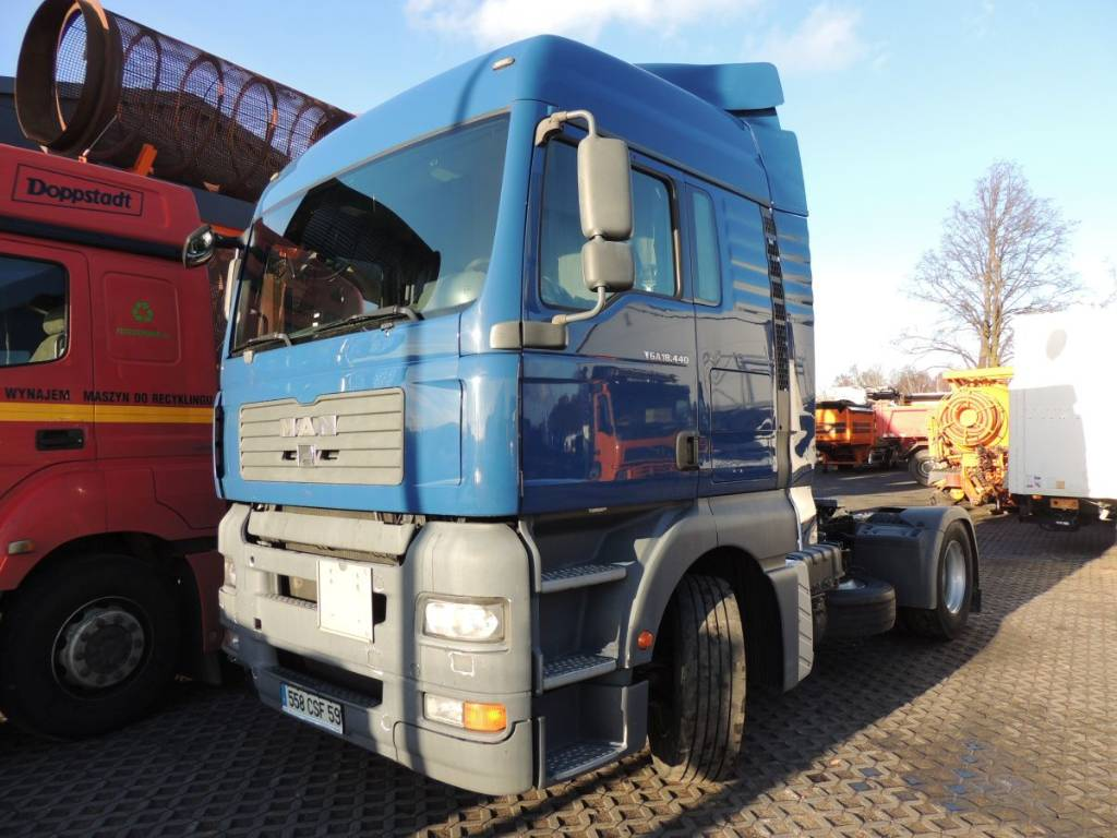 Tractor Going Right On Man : Used man tga tractor units year price