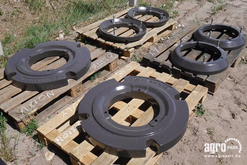 Used Tractor Wheel Weights : Claas tractor wheel weights kg year