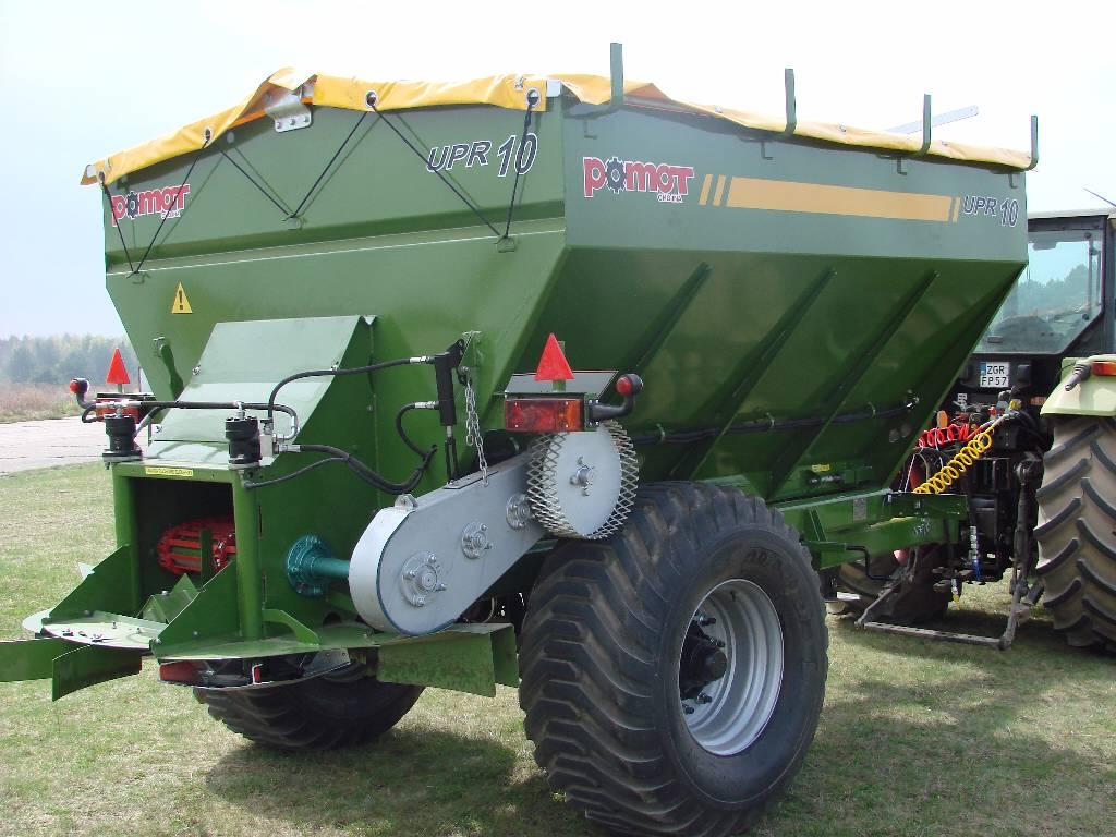 Pomot Upr 10 Tones Fertilizer And Lime Spreader Direct