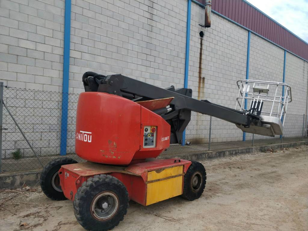Construction Lift Arm : Manitou aet mts used boom lift articulated arm