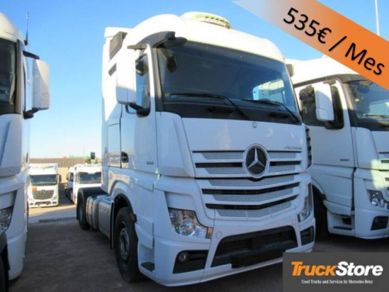 Used mercedes benz actros 1851 ls tractor units year 2014 for Mercedes benz valencia service