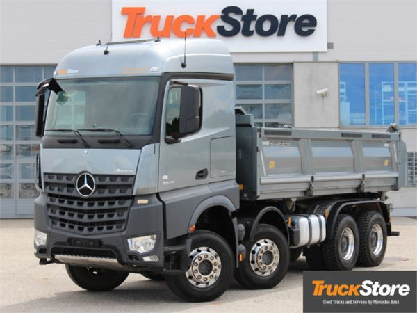 used mercedes benz arocs 3243 k dump trucks year 2013. Black Bedroom Furniture Sets. Home Design Ideas