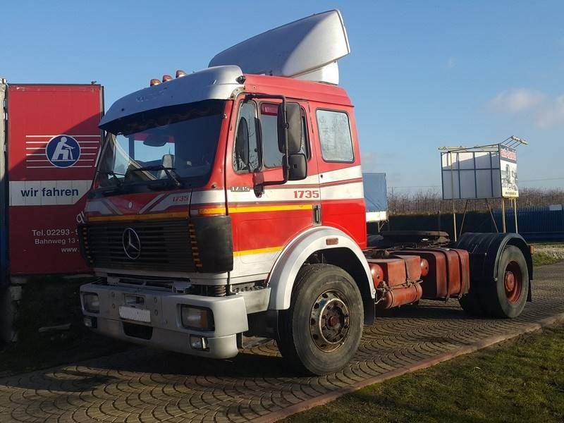 Mercedes Air Suspension >> Used Mercedes-Benz SK 1735 V8 tractor Units Year: 1992 Price: US$ 14,289 for sale - Mascus USA