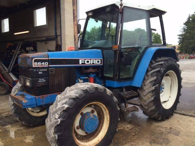 6640 Ford Tractor : Ford sl dualpower year tractors id