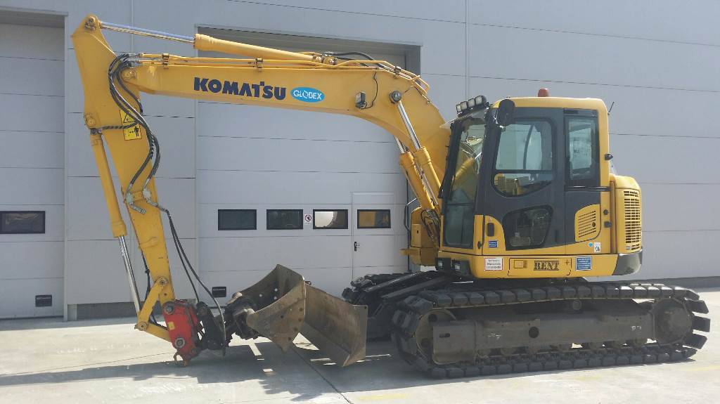 Used Komatsu Pc 138 Us Crawler Excavators Year 2010 Price